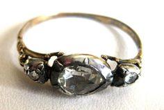 Georgian Rose Diamond Ring Circa. 1800