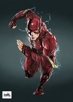 DCEU The Flash - Garnabiuth