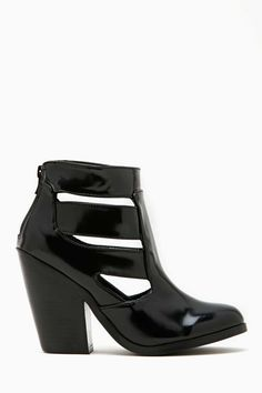 Shoe Cult Triton Bootie - Black | Shop Shoes at Nasty Gal!