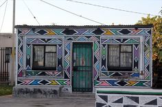 ndebele houses - Google Search African House, Environmental Art, Artist At Work, Houses, Photography, Painting, Google Search, Shop, Art Production