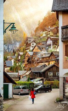 Autumn afternoon in Hallstatt, Austria | ilias nikoloulis on 500px