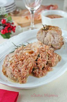 Arrosto di vitello in salsa di prosciutto ricetta cucinare secondo Natale nalaizia al forno blog blogGz Giallozafferano Statusmamma spezie