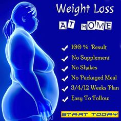 Weight Loss At Home. Suitable for any age. NO Requirement of shakes, supplement, packaged meal and options to choose 3 or 4 or 12 week plan which is easy to follow). 100% Result Guaranteed. Start Losing weight easily.