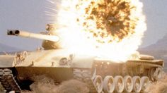 """US Soldiers Shooting Anti-Tank """"Rockets"""" at Tanks - AT4 in Action During..."""
