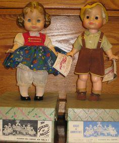 Vintage 1960s Madame Alexander Janie 12 Sound of Music Gretl Frederick Dolls