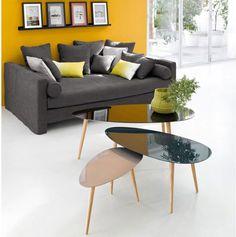 home decor grey yellow living room Yellow Home Decor, Grey Home Decor, Rooms Home Decor, Home Living Room, Living Room Designs, Grey And Yellow Living Room, Living Room Decor Yellow, Grey Yellow, Feature Wall Living Room