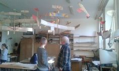 Warsztaty w szkolnej modelarni  w szkole Podstawowej nr 166 w Warszawie