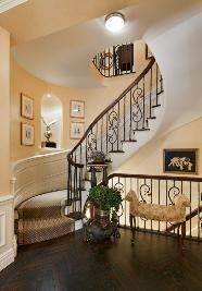 Fabulous triplex staircase, Upper East Side, NY