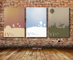 PRICE IS FOR ALL 3 I can print these illustrations with or without the text. Please just specify upon checkout :) Illustrated by Kevin