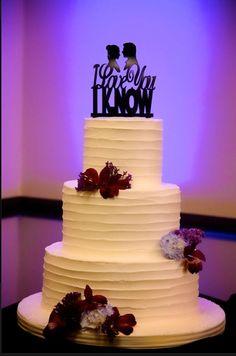 Star Wars Inspired Wedding Cake Topper