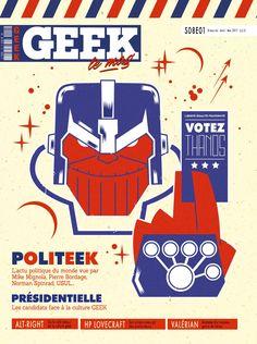 Geek Magazine - N° 17 - Avril-Mai 2017 Hp Lovecraft, Mike Mignola, Norman, Avril Mai, Geek Magazine, New Books, Geek Stuff, Darth Vader, France