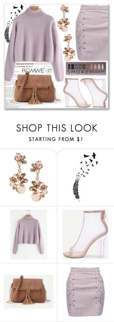 """""""Romwe 3"""" by nerma10 ❤ liked on Polyvore featuring WithChic and Forever 21"""