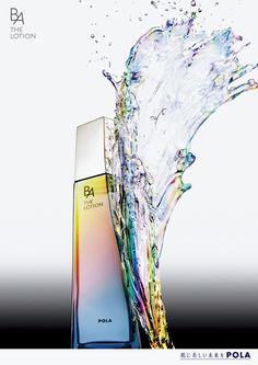 给人很舒服感觉的曲线,色彩渐变也很自然。清水正己 « TDC TOKYO JPN