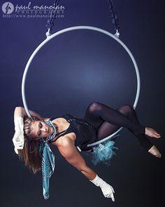 Aerial Hoop Photography - Lyra - #Aerialist #Circus - Detroit Photographer