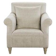 Victoria Chair in Beige   Nebraska Furniture Mart