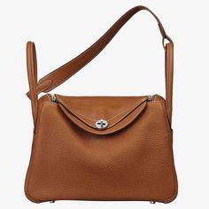 4f76aad255c1 Hermes Lindy 30 Top Flap Leather Bag with Strap