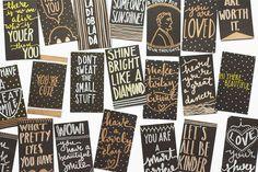Spreading kindness with tiny kind notes. #allingoodkind    Artist Mari Orr