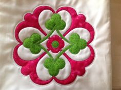 Applique from embroidery in artistic edge software