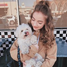 Cute Puppies, Cute Dogs, Dog Grooming Shop, Dog Tumblr, Dog Breeds List, Photos With Dog, Dog Stories, Cute Girl Pic, Girl And Dog