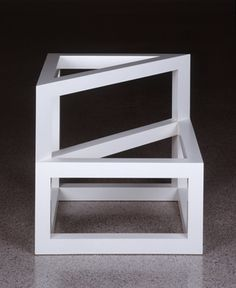 """Sol LeWitt, """"Form Derived From a Cube"""", 1986"""