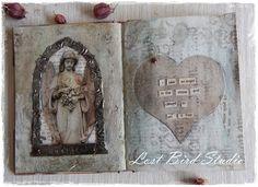 Lost Bird Studio: Altered Book