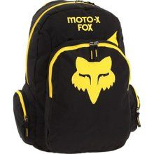 Fox Kicker Backpack Black/Yellow - Men's