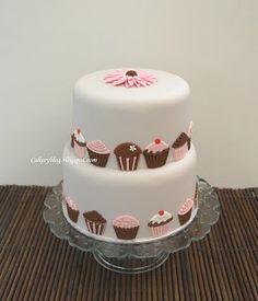 Cakeryblog: Cupcake-cake