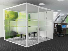 room in room lindner-group Modern Exterior, Interior Exterior, Office Pods, Freedom Design, Cubicle, Small Rooms, Locker Storage, Modern Design, Shelves