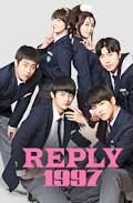 Reply 1997 - As a teen, Shi Won was obsessed with a boy band. Now 33 years old, Shi Won and her friends are reviving their memories as their school reunion nears. Answer Me 1997, Sung Dong Il, Cool Poster Designs, Kdrama, Reply 1997, Superstar, Netflix, Reality Shows, Sung Kyung