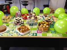 The baking selection for our Macmillan Cancer Support Coffee Morning 2014