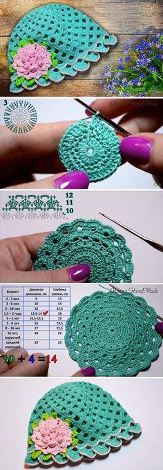 Crochet Retro Hat Tutorial