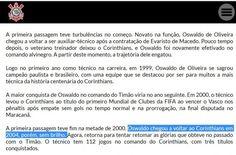 Site do Corinthians anuncia Oswaldo e cita passagem 'sem brilho' de 2004