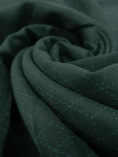 Dark Teal/Teal Geometric Dashed Lines Cotton Voile- J.Crew- 58W