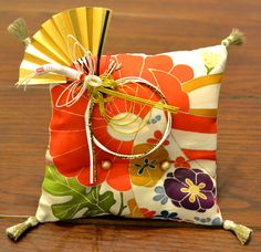 oritantal ringpillow for wedding 和婚/リングピロー
