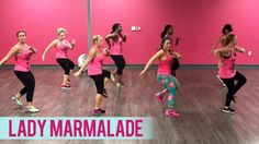 """Throwback song! New dance fitness routine to """"Lady Marmalade"""" by Christina Aguilera, Lil' Kim, Mya, and Pink. Thanks for watching! SHARE with your friends an..."""
