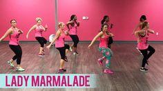 Christina Aguilera, Lil' Kim, Mya, Pink - Lady Marmalade (Dance Fitness with Jessica) - YouTube
