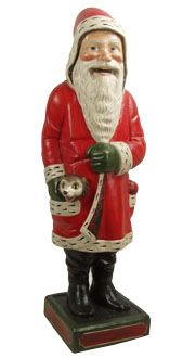 Robb Santa in Red Coat from Vaillancourt Folk Art. Colonial Williamsburg Foundation Folk Art Robb Santa was one of the first projects that I worked on with Gary and Judy Vaillancourt .