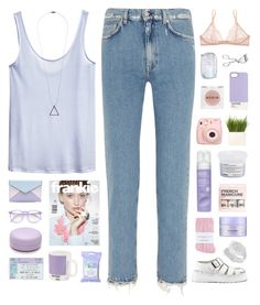 """HELENA"" by emmas-fashion-diary ❤ liked on Polyvore featuring Acne Studios, H&M, Rebecca Minkoff, Wildfox, Forever 21, Dr. Martens, Johnstons, Eos, W2 Products and Alterna"
