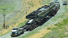 The Most Powerful Road Train in The World - YouTube