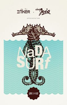 Nada Surf concert poster by Renan Benvenutti