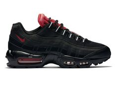 new arrival b5da4 17718 Nike Air Max 95 - Black  Challenge Red  White – West Brothers nike