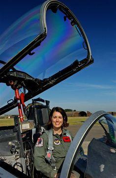 Female Pilot. Nicole Malachowski.