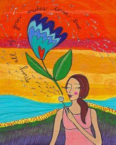 Spreading Happiness Through Art by Lori Portka