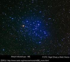 NGC 6405, Motýlí hvězdokupa –   Souhvězdí: Štír     Obecně je známo, že Philippe de Chéseaux byl první, kdo tuto otevřenou hvězdokupu objevil. Kenneth Glyn Jones však uvádí, že ji první spatřil Hodierna již před rokem 1654, kdy napočítal 18 členů této hvězdokupy.