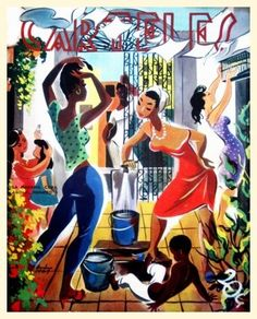 "12x18 Cuban poster""Neighbors in Colorful Solar in Cuba"" 345 by Cuban graphics, http://www.amazon.com/dp/B001C198SG/ref=cm_sw_r_pi_dp_fHJyrb1D2C26Q"