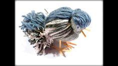 / How to make a yarn bird. Techno, Birds, Creative, Youtube, Animals, Spring, Style, Swag, Animales