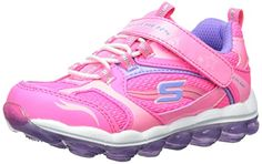 Skechers Kids 80220N Skech Air Athletic Sneaker,Neon Pink/Lavender,5 M US Toddler *** To view further for this item, visit the image link.