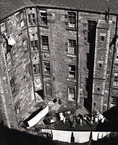 Back court, Gorbals, Glasgow 1963.