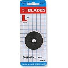 2 x 60mm DAFA Rotary Cutter Spare Replacement Blades Fits OLFA & FISKARS: Amazon.co.uk: Kitchen & Home