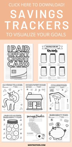 Saving Money Chart, Saving Tips, Goals Printable, Budget Printable Free, Budget Planning Printables, Free Printables, Tracker Free, Debt Tracker, Savings Chart